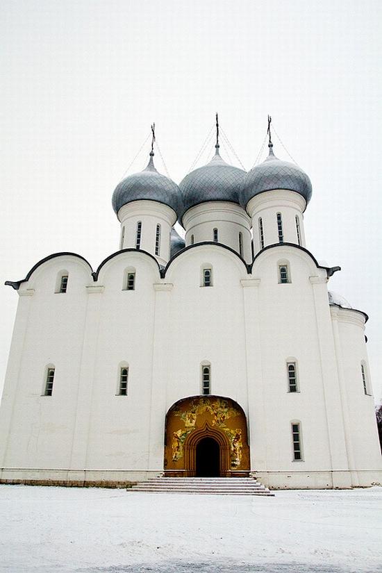 Vologda city Kremlin Square view 5
