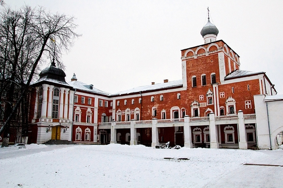 Vologda city Kremlin Square view 8