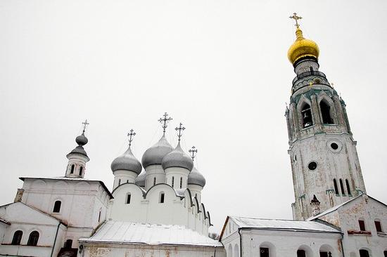 Vologda city Kremlin Square view 9
