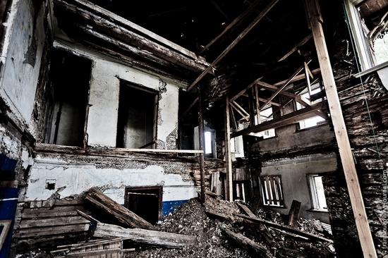 Wooden house, Ostashevo, Kostroma oblast, Russia view 10