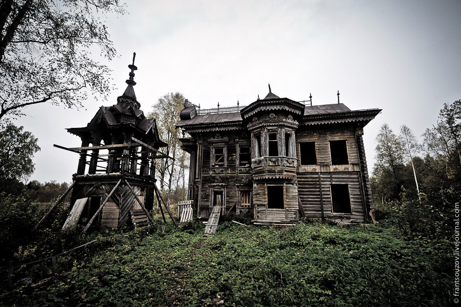 Abandoned Wooden House From The Fairy Tale Russia Travel