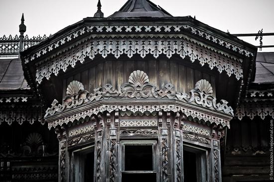 Wooden house, Ostashevo, Kostroma oblast, Russia view 20