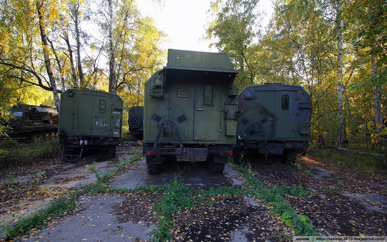 Abandoned base of Soviet military equipment view 30
