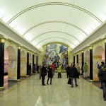 The deepest metro station in Russia was opened in St. Petersburg