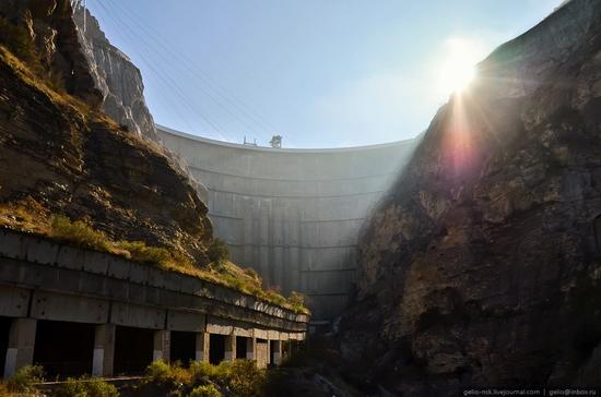 Chirkeyskaya hydropower plant, Russia view 10