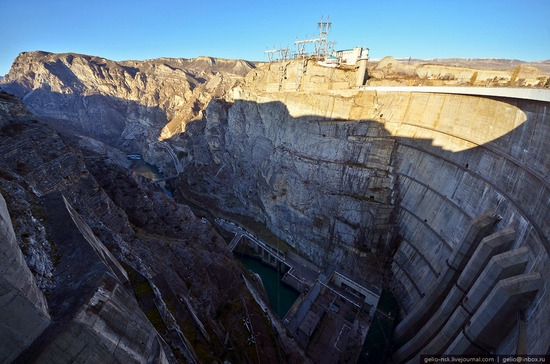 Chirkeyskaya hydropower plant, Russia view 11