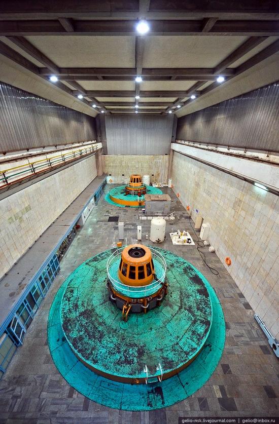 Chirkeyskaya hydropower plant, Russia view 13