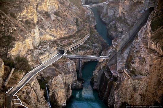 Chirkeyskaya hydropower plant, Russia view 16
