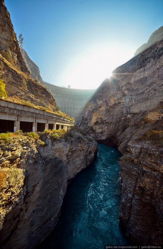 Chirkeyskaya hydropower plant, Russia view 17