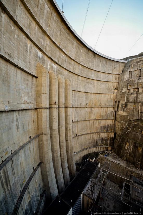 Chirkeyskaya hydropower plant, Russia view 18