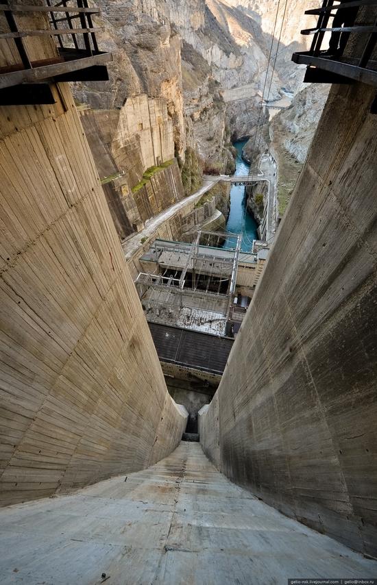 Chirkeyskaya hydropower plant, Russia view 19