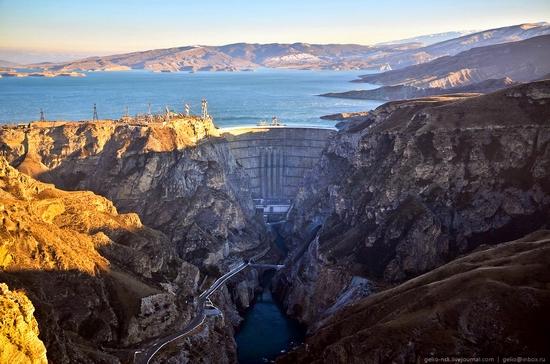 Chirkeyskaya hydropower plant, Russia view 2