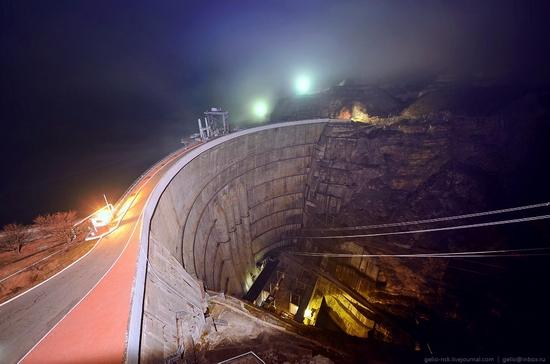 Chirkeyskaya hydropower plant, Russia view 20