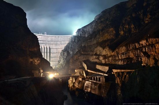 Chirkeyskaya hydropower plant, Russia view 21