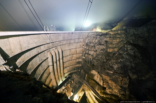 Chirkeyskaya hydropower plant, Russia view 22