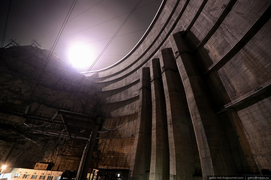 Chirkeyskaya hydropower plant, Russia view 23