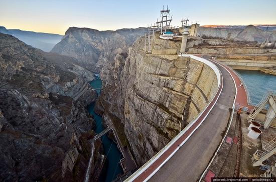 Chirkeyskaya hydropower plant, Russia view 3