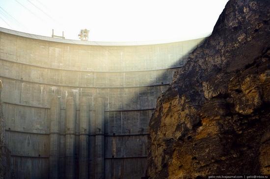 Chirkeyskaya hydropower plant, Russia view 4