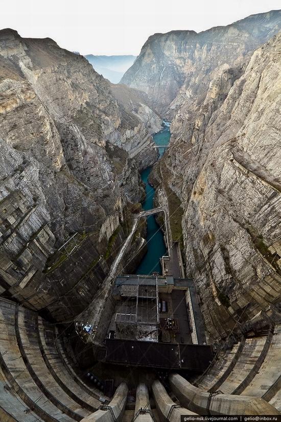 Chirkeyskaya hydropower plant, Russia view 5