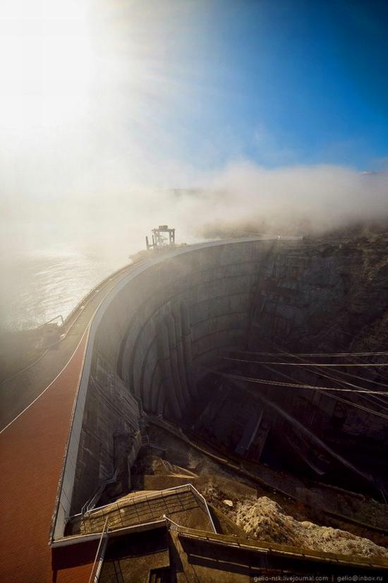 Chirkeyskaya hydropower plant, Russia view 6