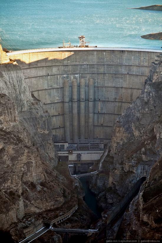 Chirkeyskaya hydropower plant, Russia view 7