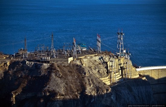Chirkeyskaya hydropower plant, Russia view 8