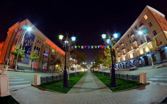 Grozny city at night time 15