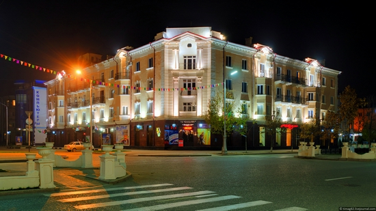 Grozny city at night time 17