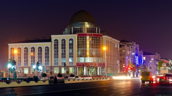 Grozny city at night time 6