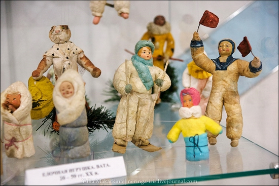 Museum of Christmas toys, Klin town, Russia view 11