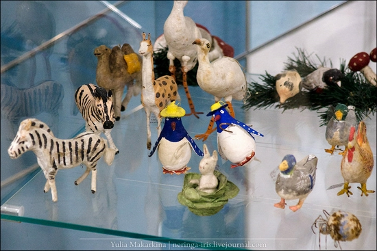 Museum of Christmas toys, Klin town, Russia view 12