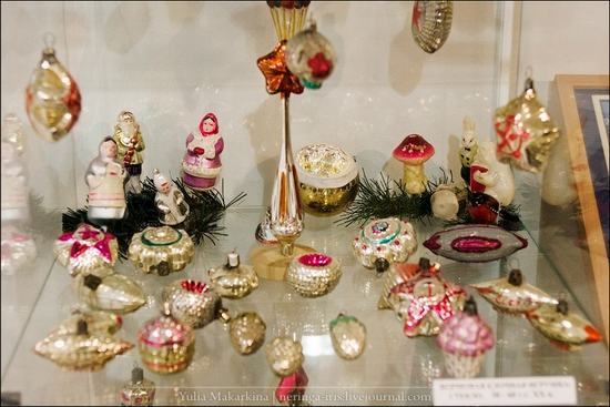 Museum of Christmas toys, Klin town, Russia view 17