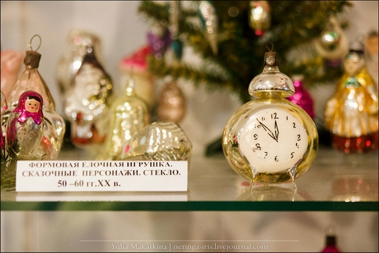 Museum of Christmas toys, Klin town, Russia view 20