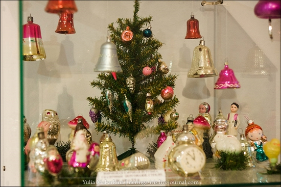 Museum of Christmas toys, Klin town, Russia view 21