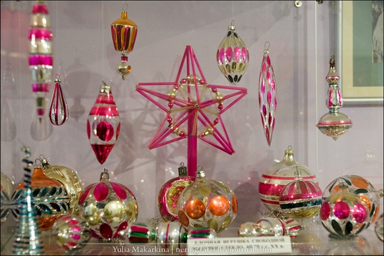 Museum of Christmas toys, Klin town, Russia view 24