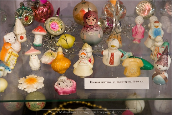 Museum of Christmas toys, Klin town, Russia view 25