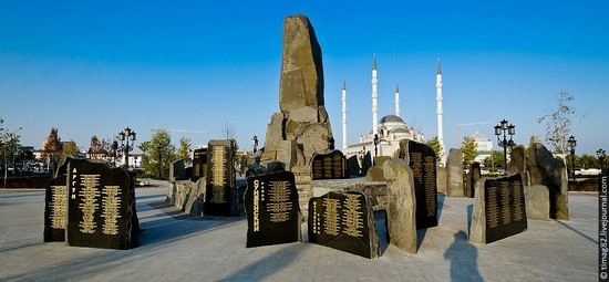 Rebuilt Grozny city, Russia view 13