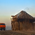 """BelAZ 75600"" – the biggest truck in the former USSR"