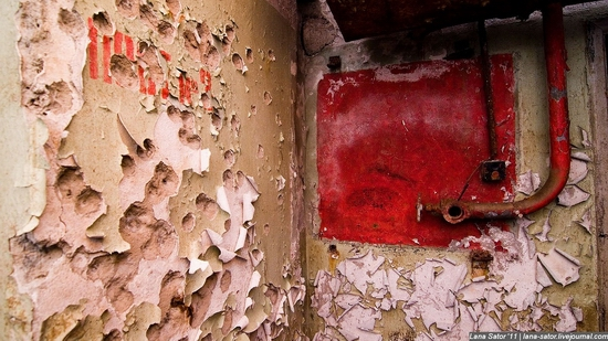 Abandoned bomb shelter, Russia view 10