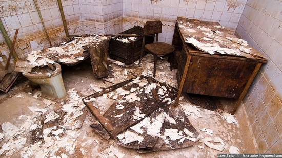 Abandoned bomb shelter, Russia view 12