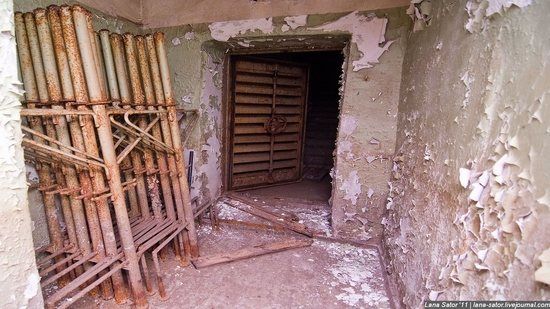 Abandoned bomb shelter, Russia view 19