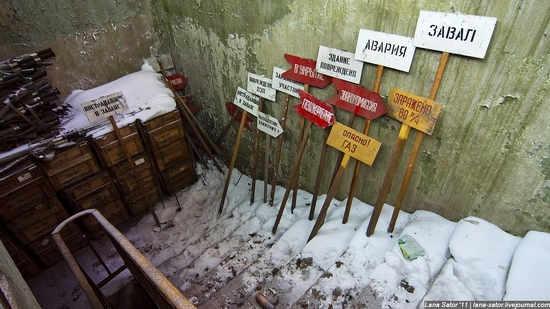 Abandoned bomb shelter, Russia view 3