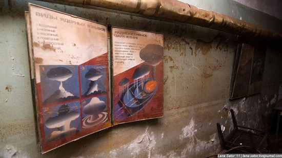 Abandoned bomb shelter, Russia view 30
