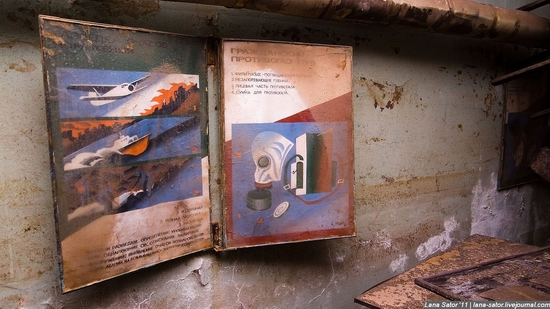 Abandoned bomb shelter, Russia view 31