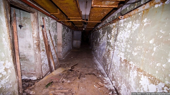 Abandoned bomb shelter, Russia view 34
