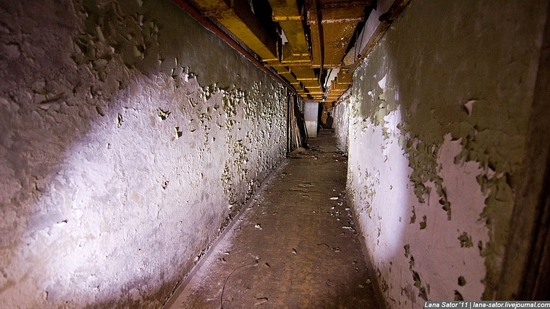 Abandoned bomb shelter, Russia view 35
