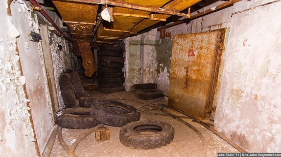 Abandoned bomb shelter, Russia view 4