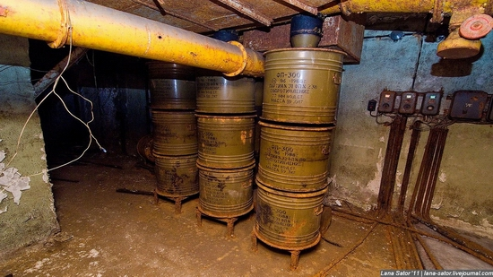 Abandoned bomb shelter, Russia view 47