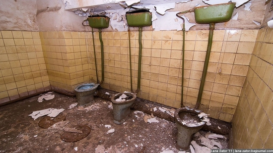 Abandoned bomb shelter, Russia view 6