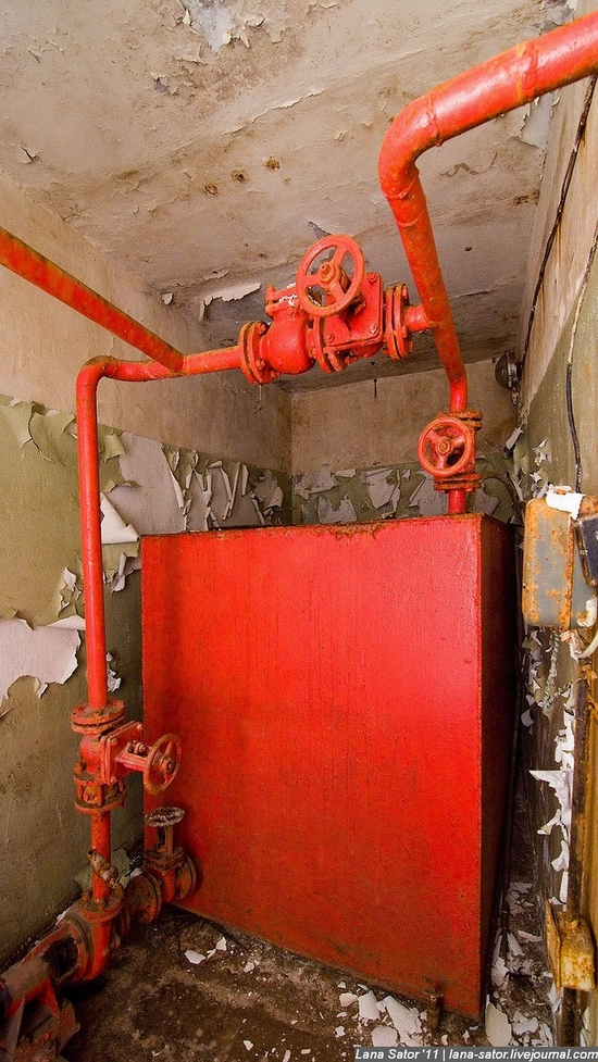 Abandoned bomb shelter, Russia view 7
